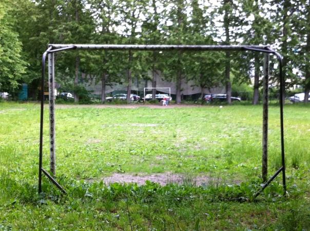 Zwei Tore, Rasen - mehr braucht man nicht!