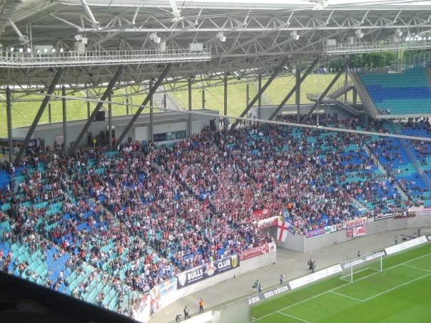 Fanblock von RB Leipzig