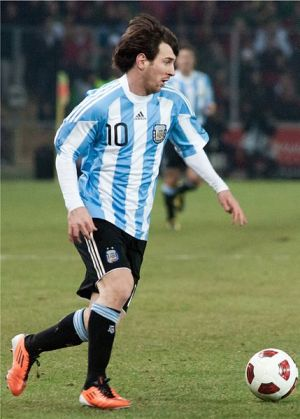 Lionel Messi by Fanny Schertzer via Wikimedia